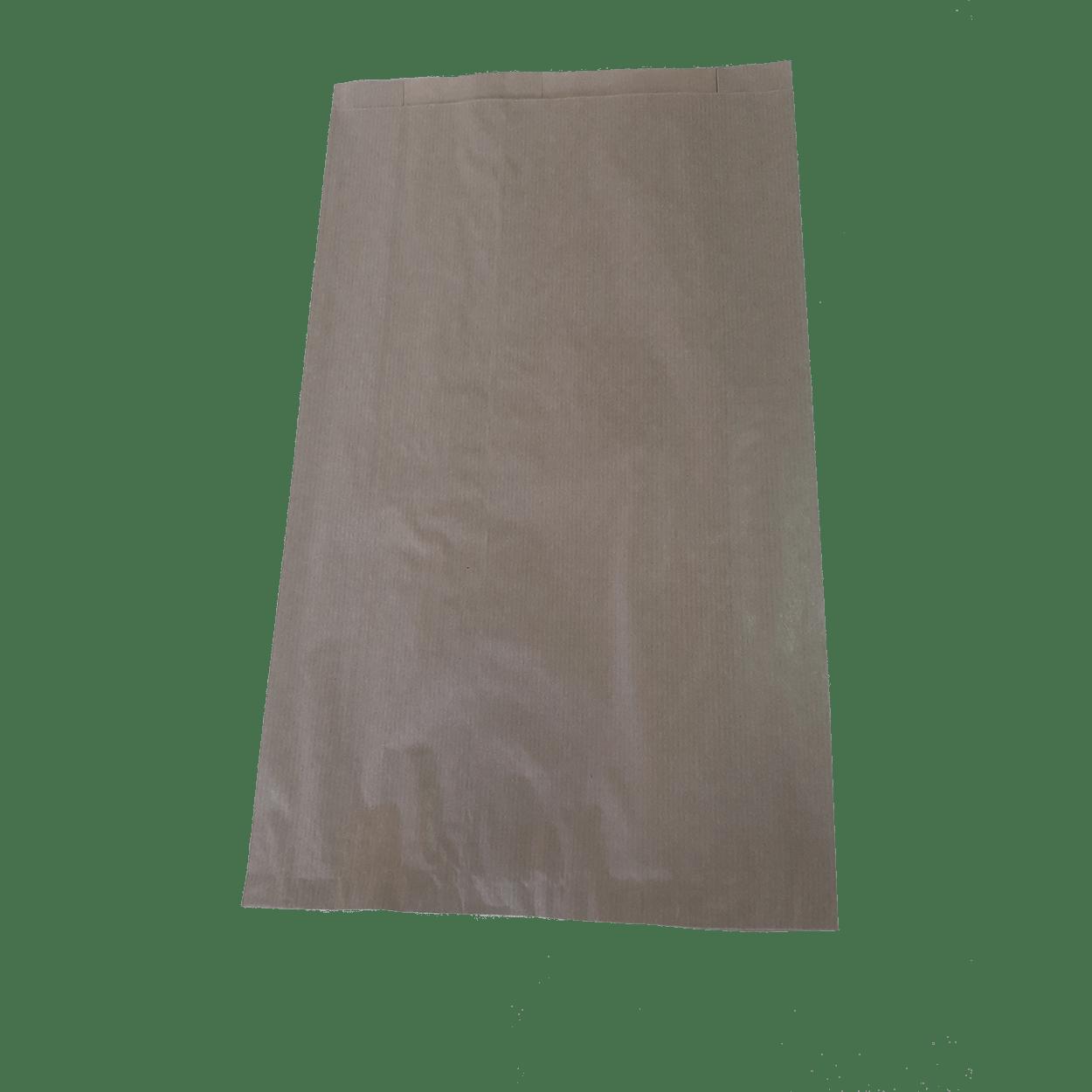 ΧΑΡΤΟΣΑΚΟΥΛΑ ΑΡΤΟΠΟΙΙΑΣ GREASEPROOF 25+8×44 Cm ΚΡΑΦΤ KAΦΕ
