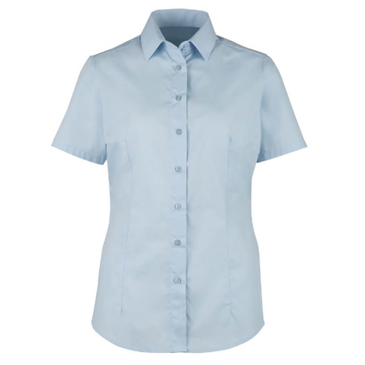 Γυναικείο μοντέρνο κοντομάνικο πουκάμισο