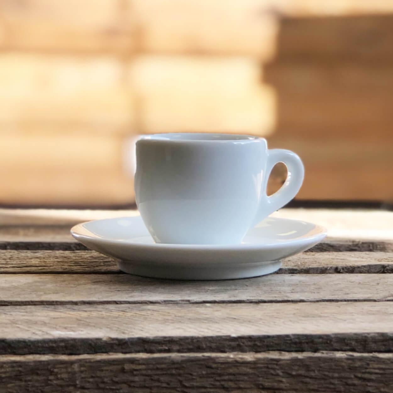 ΦΛIΤΖΑΝΙ+ΠΙΑΤΑΚΙ Espresso Classic White VERONA