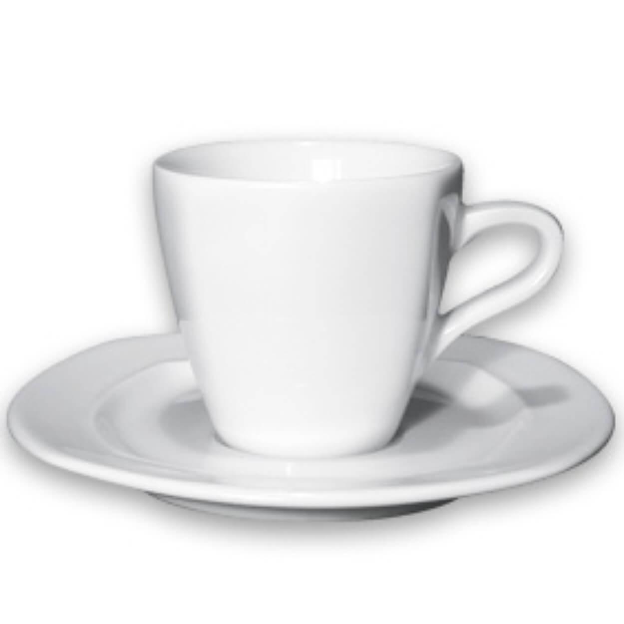 ΦΛIΤΖΑΝΙ+ΠΙΑΤΑΚΙ ΠΟΡΣΕΛ. Espresso 8γωνο White OGGI