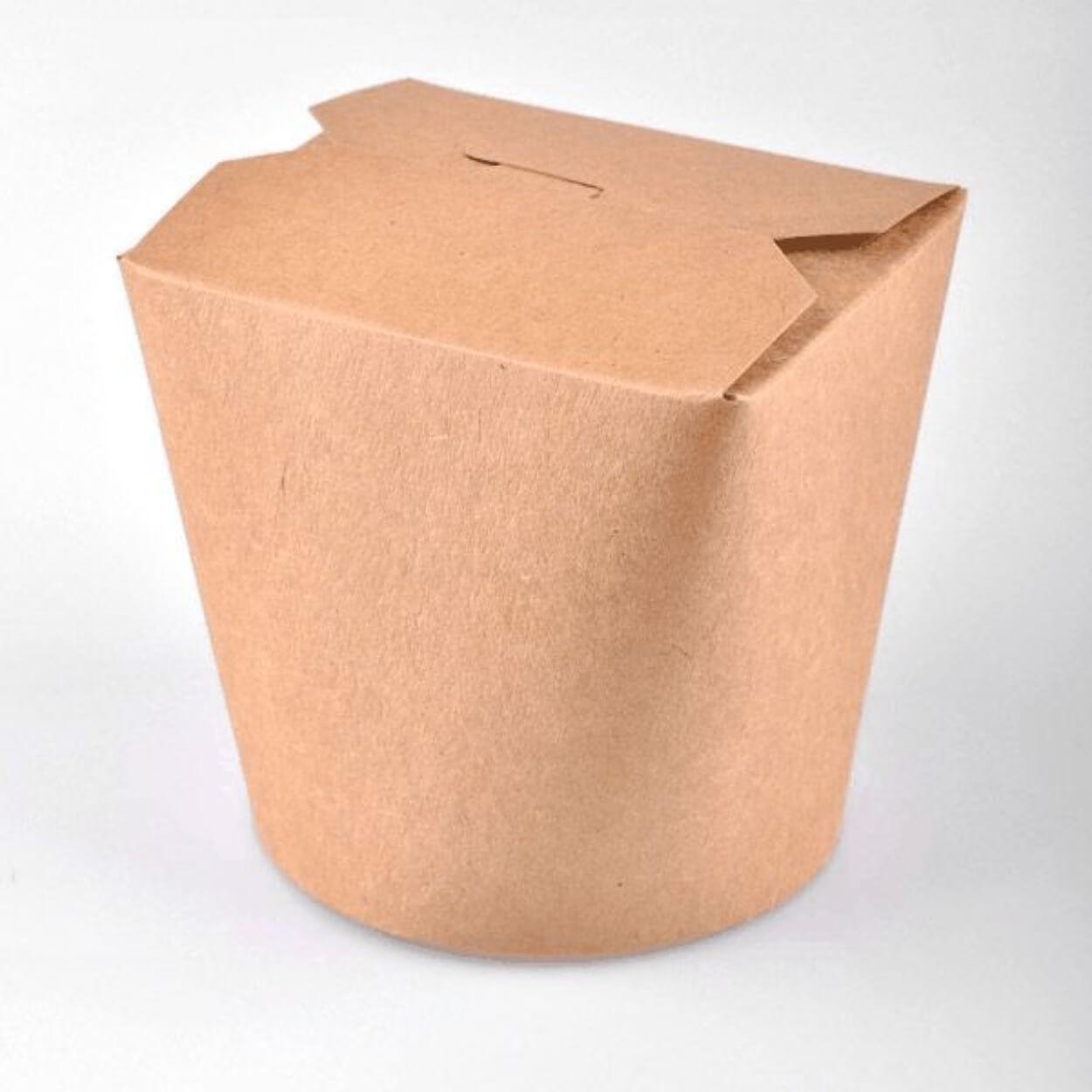 Noodle Box Kraft 26oz 98x90x93Y (50τ)