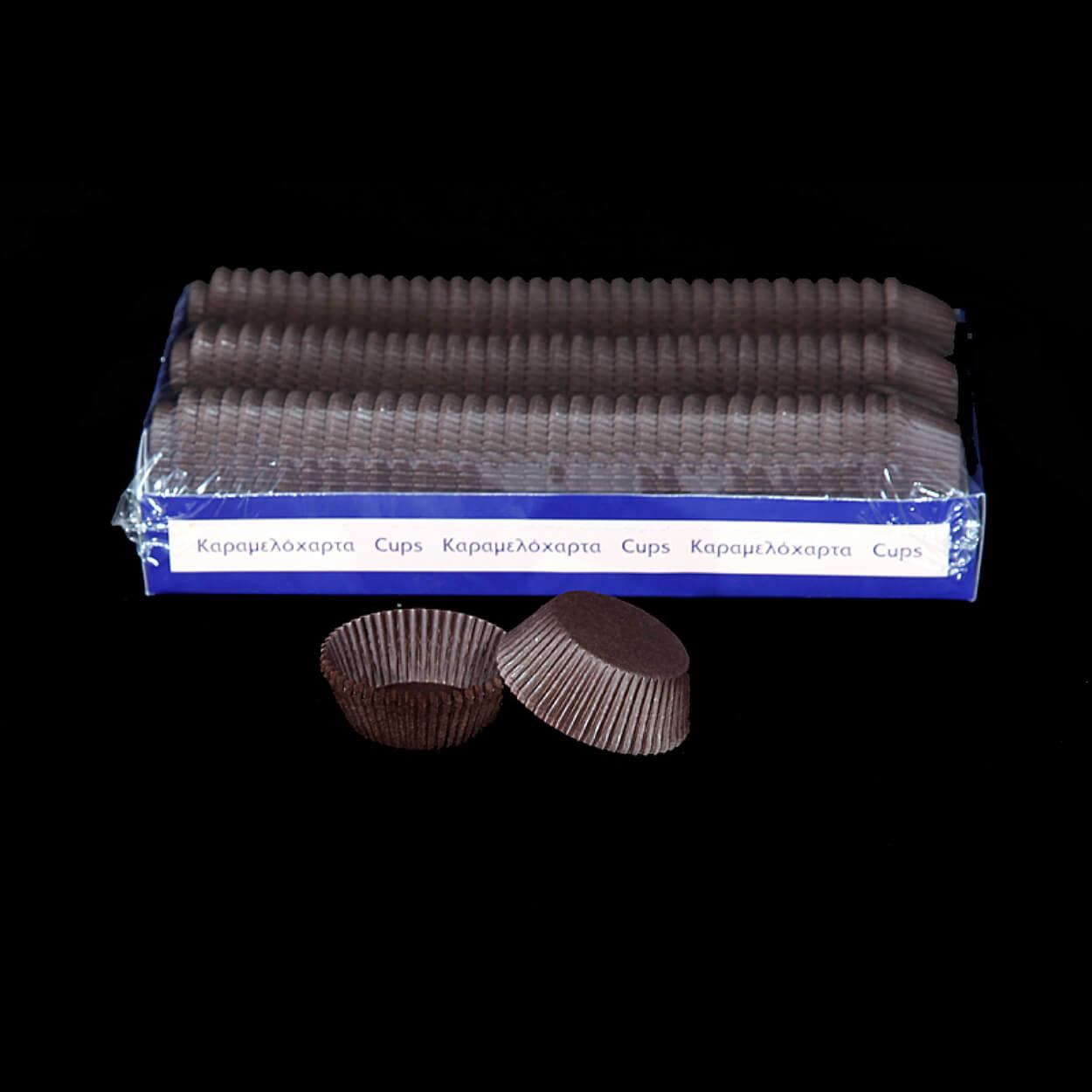 ΣΤΡΟΓΓΥΛΟ ΚΑΡΑΜΕΛΟΧΑΡΤΟ Φ49xΦ98×24,5mm ΚΑΦΕ